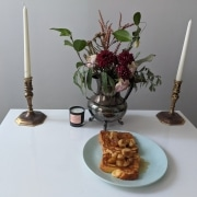 French Toast With Bananas Foster